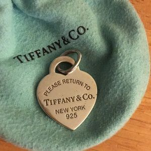 Tiffany & Co. Jewelry - Tiffany's silver pendant